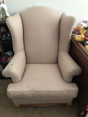 Pink Wingback Chair for Sale in Fresno, CA