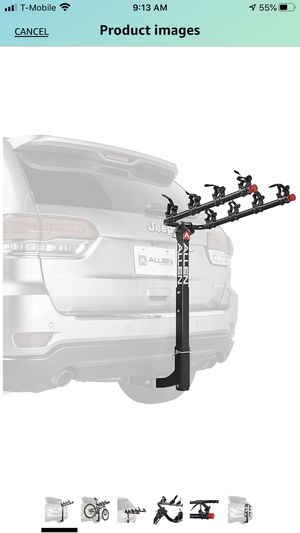 Allen Sports 4-Bike Hitch Racks for 2 in. Hitch for Sale in CANAL WNCHSTR, OH