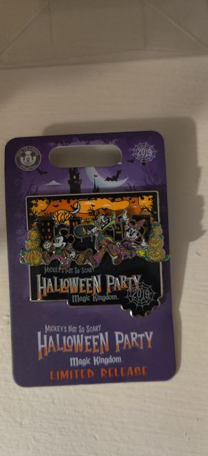 Disney World Exclusive Halloween Pin 2019 for Sale in Katy, TX