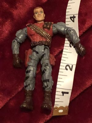 GI Joe red figurine action figure vintage collector toy for Sale in Phoenix, AZ