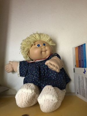 Original 1972-1988 cabbage patch doll. Used but clean for Sale in North Las Vegas, NV