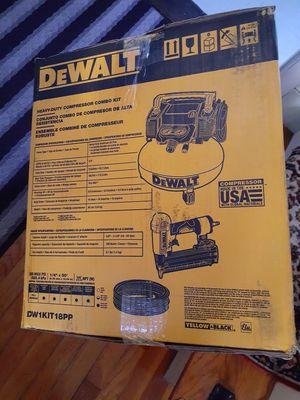 Dewalt heavy duty compressor combo kit brand new pick up only for Sale in Lynn, MA
