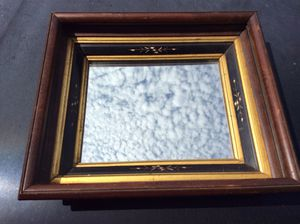 Antique Eastlake etched picture frame with vintage mirror $80 for Sale in Clovis, CA