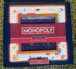 Monopoly Luxury Wooden Edition with Wood Game Board New Premium Collectible NIB for Sale in Kissimmee, FL
