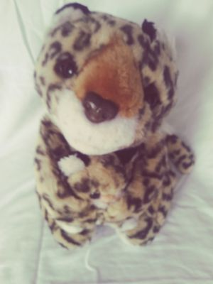 Chosen: Plush Leopard Cheetah Mother with Baby for Sale in Fort Lauderdale, FL