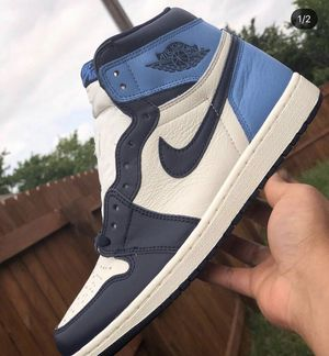 Jordan 1 Retro High Obsidian UNC Size 9 for Sale in Tampa, FL