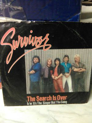 Survivor The Search is Over 45 RPM for Sale in Buena Park, CA