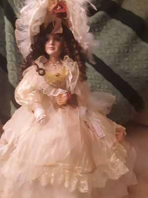 Antique Porclain Umbrella doll for Sale in Akron, OH