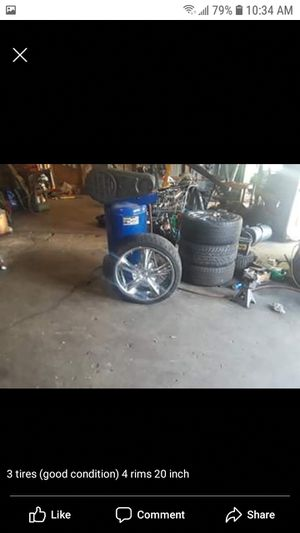 Rims and Tire for Sale in Saginaw, MI