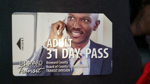 BROWARD COUNTY BUS PASS for Sale in Pompano Beach, FL