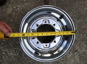 Chrome wheels for ATV ( 2 wheels ) for Sale in Lakeland, FL