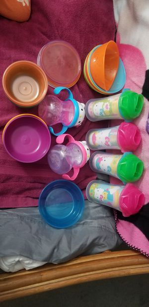 Baby cups bowls for Sale in Waipahu, HI