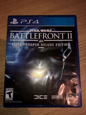 PS4 Star Wars Battlefront II for Sale in San Jose, CA