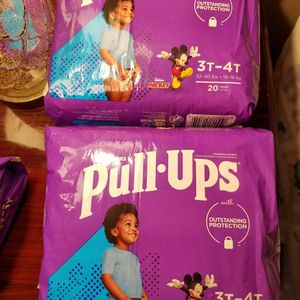 HUGGIES PULL-UPS SIZE 3T-4T $13 For ALL for Sale in Las Vegas, NV