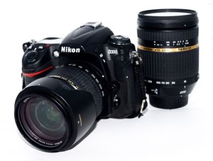 Nikon D300 comes with 2 lenses for Sale in Alexandria, VA