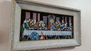 The Last Supper Vintage Velvet Painting 1960s 1970s mid century for Sale in Scottsdale, AZ