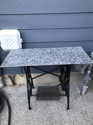 Sewing Machine Table ( Stone Top ) for Sale in Kent, WA