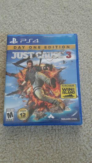 Ps4 Just Cause 3 for Sale in Chino, CA