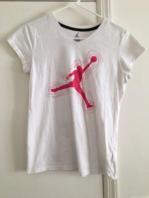 Girls Jordan White Shirt for Sale in Tampa, FL