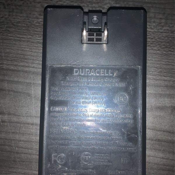 Duracell AA Rechargeable Battery's