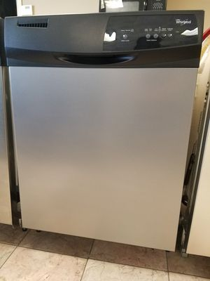 Stainless steel Whirlpool Gold dishwasher with hard food disposal $10 delivery & WARRANTY for Sale in Salt Lake City, UT