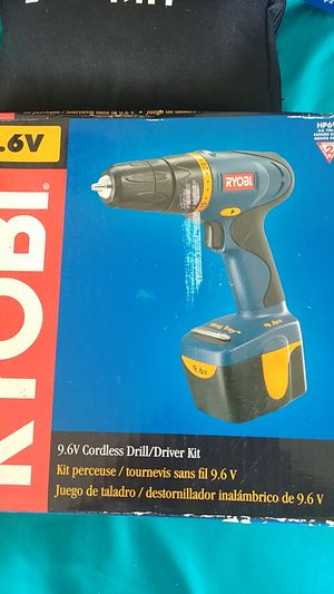 Ryobi cordless drill set for Sale in Myrtle Beach, SC