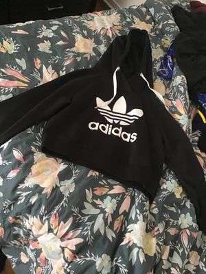 Small crop top adidas sweater for Sale in Germantown, MD