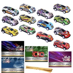 26pcs Valentines Day Gifts Cards for Kids Classroom School with Die-Cast Pull Back Mini Cars Toys Set Preschool Class Valentine Greeting Exchange Card for Sale in Queens, NY