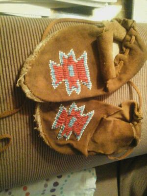 Native American moccasins worn for Sale in Tacoma, WA