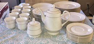 Fine China Complete Set SANGO D'OR 8404 43 Piece Gold Trim for Sale in Raleigh, NC