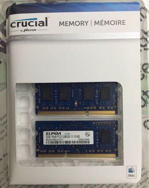 Original 2013 Macbook pro RAM- 4gb for Sale in Morrisville, NC