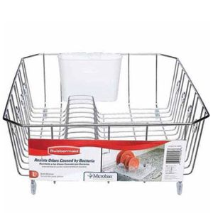 Large dish drainer for kitchen with bottom board for Sale in Danville, PA