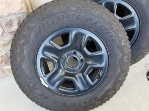 Bridgestone Jeep tires and wheels for Sale in Lincoln, CA