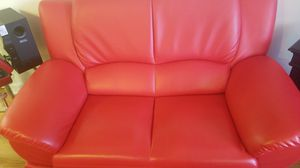 Leather Loveseat, EVERYTHING MUST GO!!! for Sale in Arlington, VA