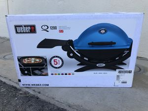 Weber Q 1200 BBQ Grill. NEW for Sale in Encinitas, CA