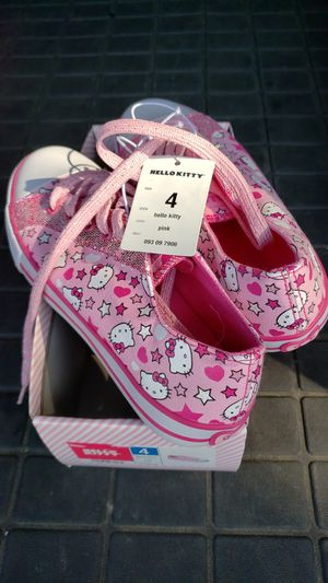 Hello Kitty girl shoes size 4 for Sale in Bakersfield, CA
