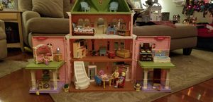 Dollhouse with furniture and people for Sale in Fulton, MD