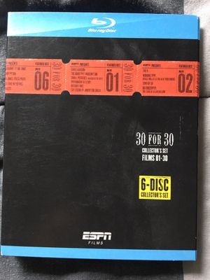 ESPN 30 for 30 Blu-ray Set for Sale in Garden Grove, CA