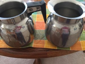 set of 2 carafe for Sale in Olympia, WA