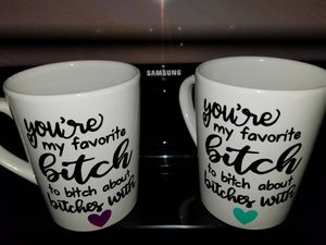 Personalized mugs! for Sale in San Antonio, TX