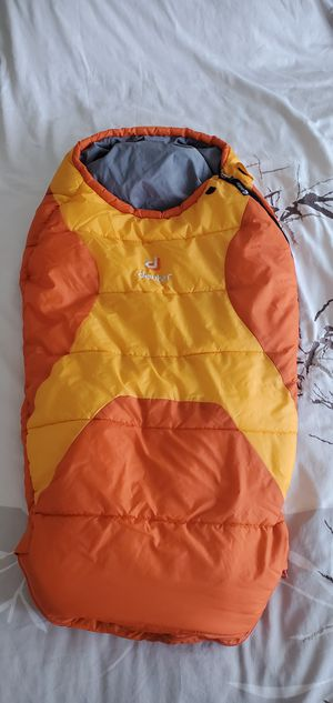 Deuter Kids Synthetic Fill Sleeping Bag for Sale in Fullerton, CA