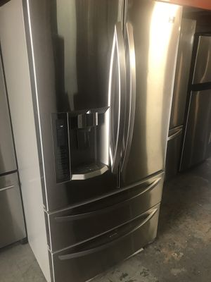 Lg fridge French Door Double Drawers for Sale in Hialeah, FL