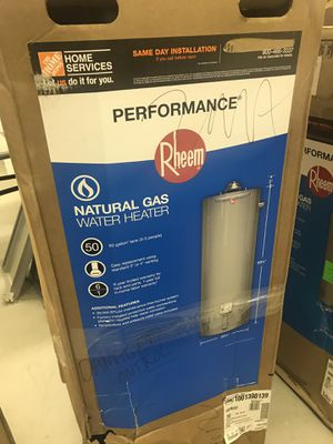 Rheem water heater from $250 and up for Sale in Atlanta, GA