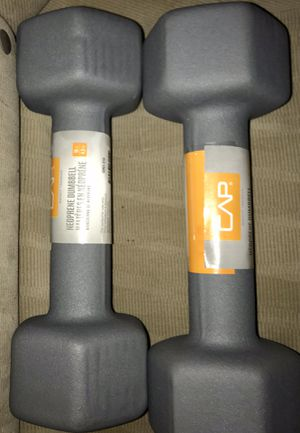 10 LB DUMBBELLS *pair* (20lb total) for Sale in Weymouth, MA