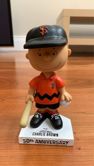 SF GIANTS 50th Charlie Brown bobble head for Sale in Morgan Hill, CA