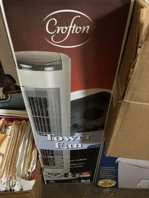 Brand new mint condition Tower Fan for Sale in Des Plaines, IL