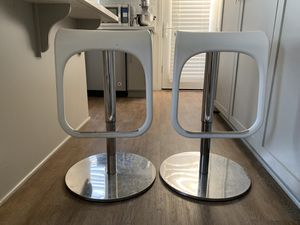 IKEA White Kitchen Stools for Sale in Newark, CA