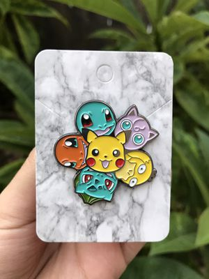 Pikachu Bulbasaur Charmander Psyduck Squirtle Jiggleypuff Pokemon Pin for Sale in Orange, CA