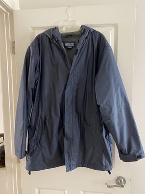 Men's Lands End Insulated Raincoat 42-44 for Sale in Hilliard, OH