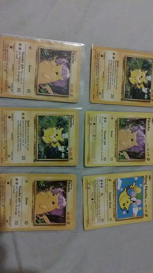 pikachu pokemon collection 99 wizards for Sale in San Pedro, CA